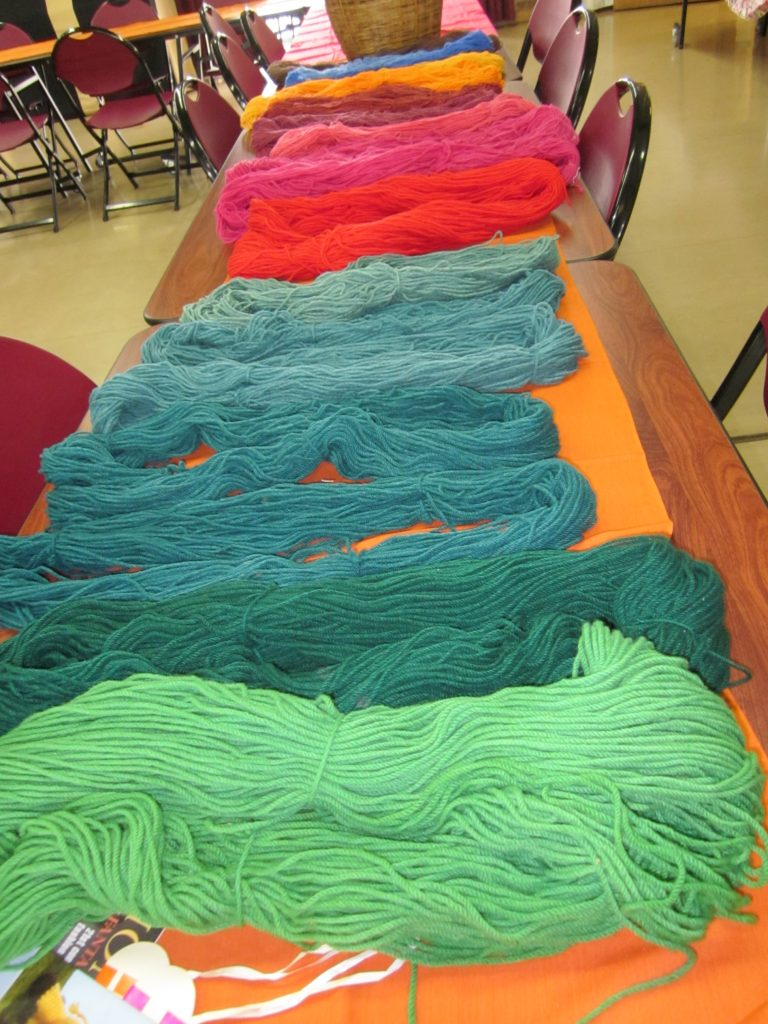 activities,projects' stash,yarn,trading day,wool competition